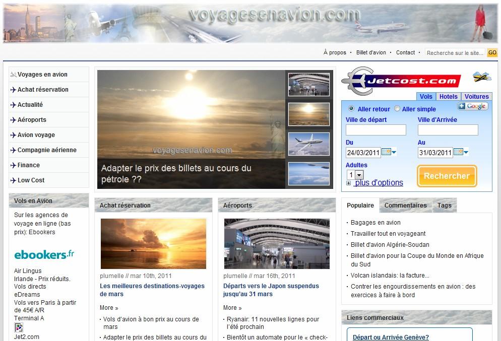 Voyagesenavions.com